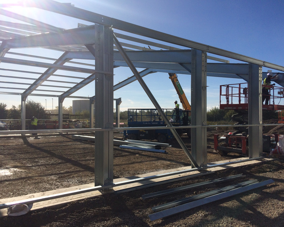 Steel Framed Buildings in Grimsby