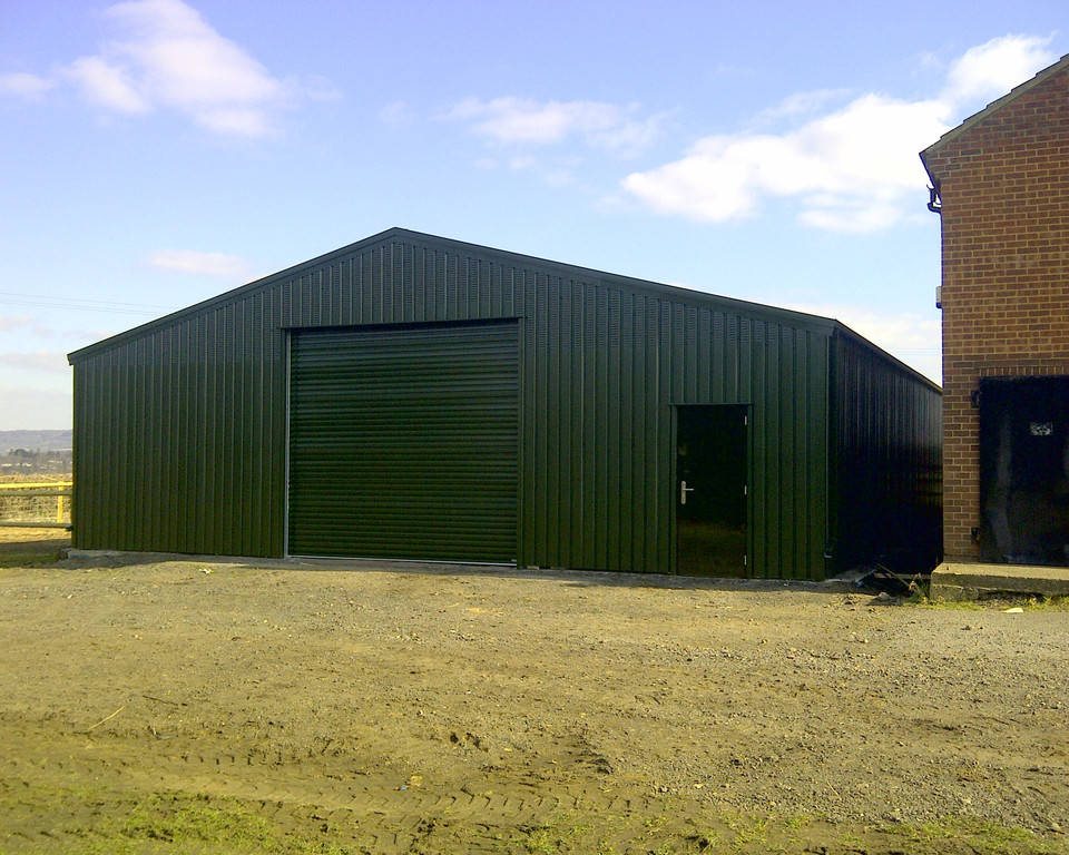 Agricultural Storage building installed by Springfield Steel Buildings (1)