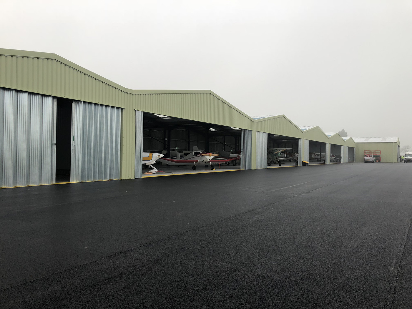 Aircraft Hangars in Yorkshire