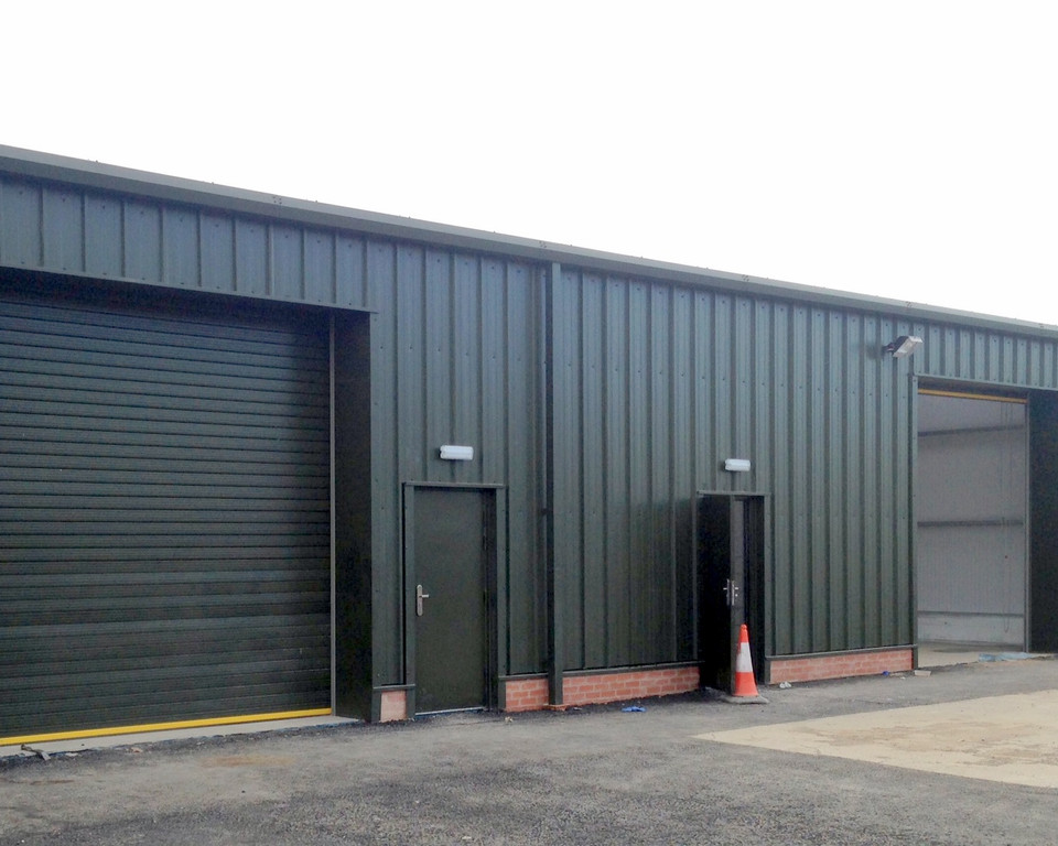 Insulated cladding installed and supplied by Springfield Steel Buildings