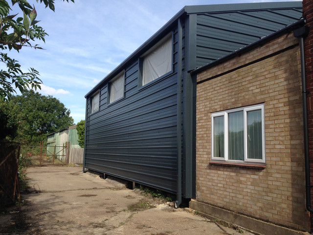 Building Cladding Supplied and Installed by Springfield Steel Buildings.JPG